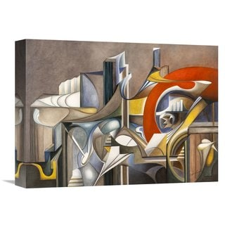 Global Gallery Laura Ceccarelli 'Tramonto' Stretched Canvas Artwork