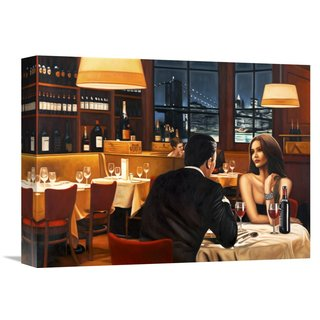 Global Gallery Pierre Benson 'Evening' Stretched Canvas Artwork