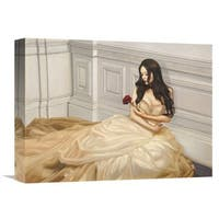 Global Gallery Pierre Benson 'My Beloved One' Stretched Canvas Artwork