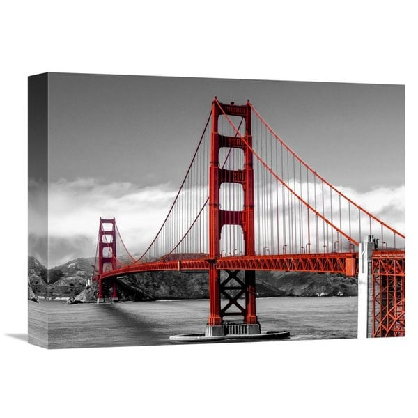 Global Gallery Pangea Images X27 Golden Gate Bridge San Francisco