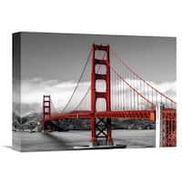 Global Gallery Pangea Images 'Golden Gate Bridge, San Francisco' Stretched Canvas Artwork