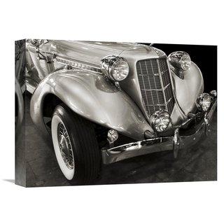 Global Gallery Gasoline Images 'Vintage Roadster' Stretched Canvas Artwork