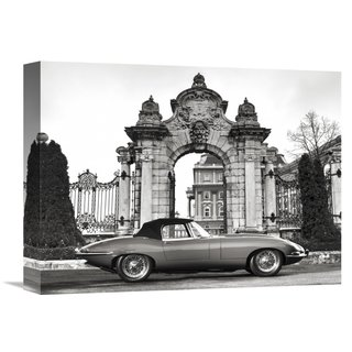 Gasoline Images 'Vintage Sports-car 1' Print