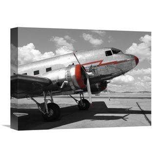 Global Gallery Gasoline Images 'DC-3' Stretched Canvas Artwork