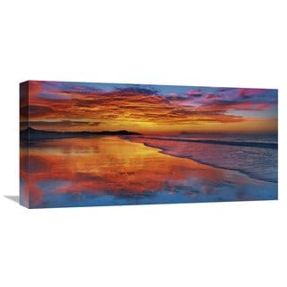 Global Gallery Frank Krahmer 'Sunset, North Island, New Zealand' Stretched Canvas Artwork