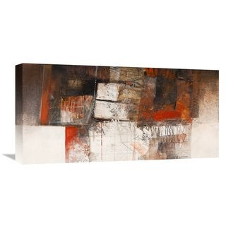 Global Gallery Giuliano Censini 'Attese' Stretched Canvas Artwork