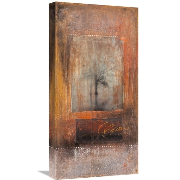 Global Gallery Charaka Simoncelli 'Spiritus Mundi' Stretched Canvas Artwork
