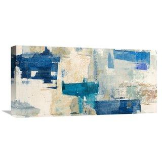 Global Gallery Anne Munson 'Rhapsody in Blue' Stretched Canvas Artwork