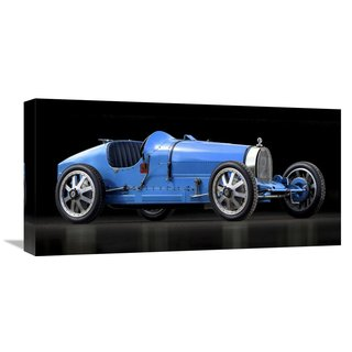 Global Gallery Gasoline Images �Bugatti 35� Stretched Canvas Artwork