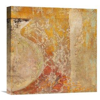 Global Gallery Charaka Simoncelli Dharma II Stretched Canvas Artwork