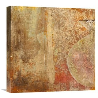 Global Gallery Charaka Simoncelli �Dharma I� Stretched Canvas Artwork