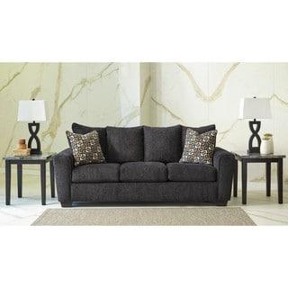 Signature Design by Ashley Wixon Slate Queen Sofa Sleeper
