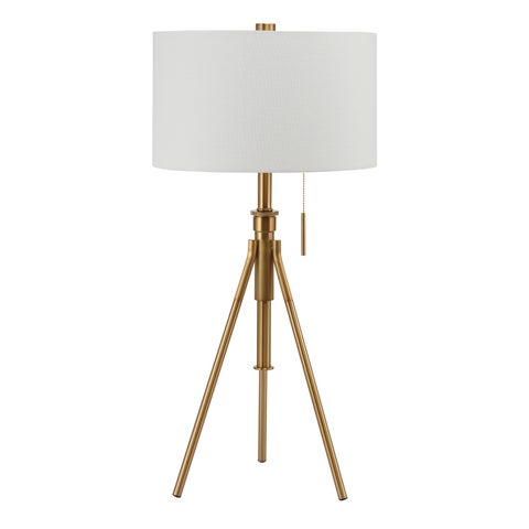 Furniture of America Barlow Metal 1-light Accent Tripod Table Lamp