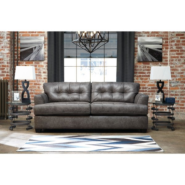 shop signature design by ashley inmon charcoal queen sofa sleeper rh overstock com