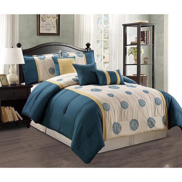 Elizabeth 7 Piece Comforter Set