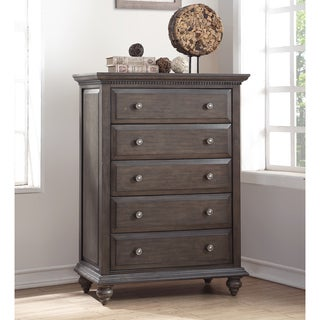 Abbyson Marseilles City Grey Chest