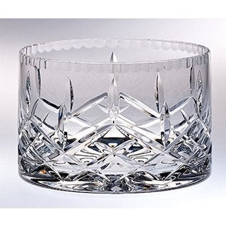 Majestic Gifts Clear Crystal Straight-sided Bowl