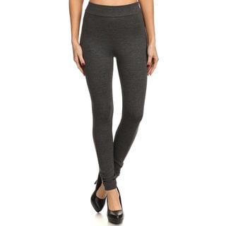 Women's Solid Slim-fit Leggings