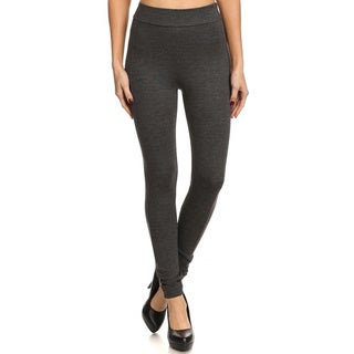 Women's Solid Slim-fit Leggings