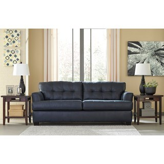 Signature Design by Ashley Inmon Navy Queen Sofa Sleeper