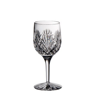 Majestic Gifts Clear Glass Hand-cut Crystal 7-ounce Wine Goblet (Pack of 4)