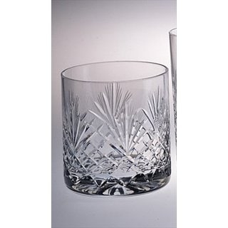 Majestic Gifts Hand-cut Crystal 14-ounce Double Old-fashioned Tumbler (Pack of 4)