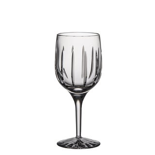 Majestic Gifts Hand-cut Clear Crystal 7-ounce White Wine Goblets (Pack of 4)