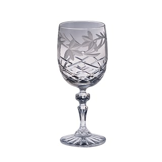 Majestic Gifts Clear Crystal Hand-cut 11-ounce Red Wine Goblet (Pack of 4)