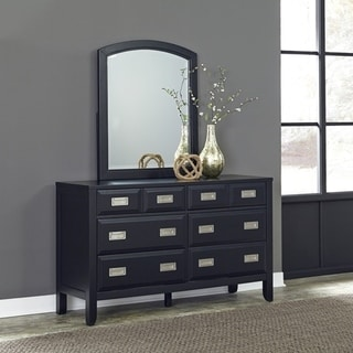 Home Styles Prescott 6 Drawer Dresser & Mirror