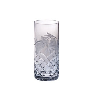 Majestic Gifts Hand-cut Crystal Highball 14-ounce Tumblers (Pack of 4)