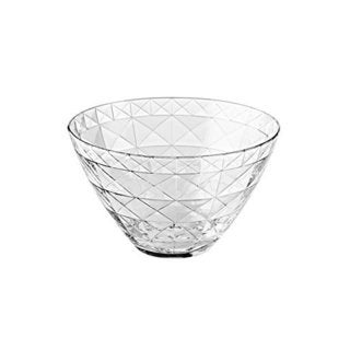 Majestic Gifts Quality Clear Glass 5.5-inch Bowl (Pack of 6)