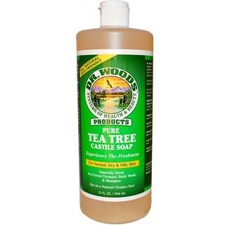 Dr. Woods Tea Tree 32-ounce Pure Castile Soap