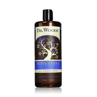 Dr. Woods Naturals Castile 32-ounce Peppermint Liquid Soap