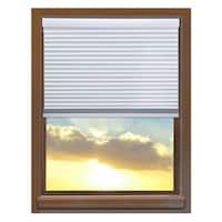 Linen Avenue Custom Cordless 68 to 69-inch Wide Crystal Blackout Cellular Window Shade