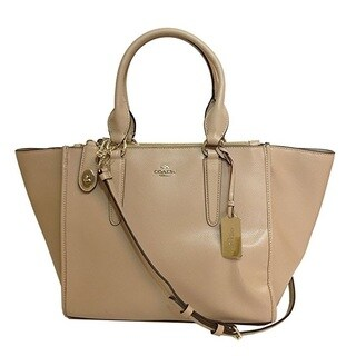 Coach Crosby Nude Leather Carryall