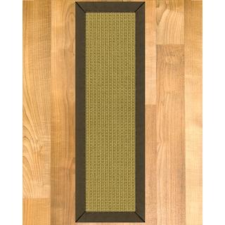 """Handcrafted Devon Sisal Carpet Stair Treads - Malt 9"""" x 29"""" (Set of 13)"""