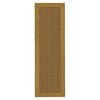 """Handcrafted Crossroads Sisal Carpet Stair Treads 9"""" x 29"""" (Set of 13)"""