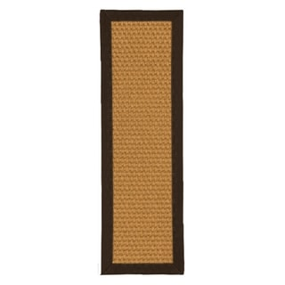 "Handcrafted Carlton Sisal Carpet Stair Treads - Fudge 9"" x 29"" (Set of 13)"