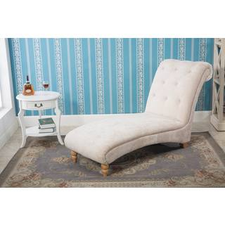 Kellory Stone Scroll End Chaise Lounge