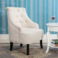 Tamin Curved Back Accent Chair