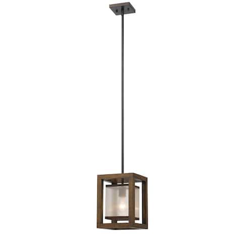Single 60-watt Mini Pendant Light