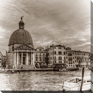 """""""Italy in Sepia 4"""" Giclee Print Canvas Wall Art"""