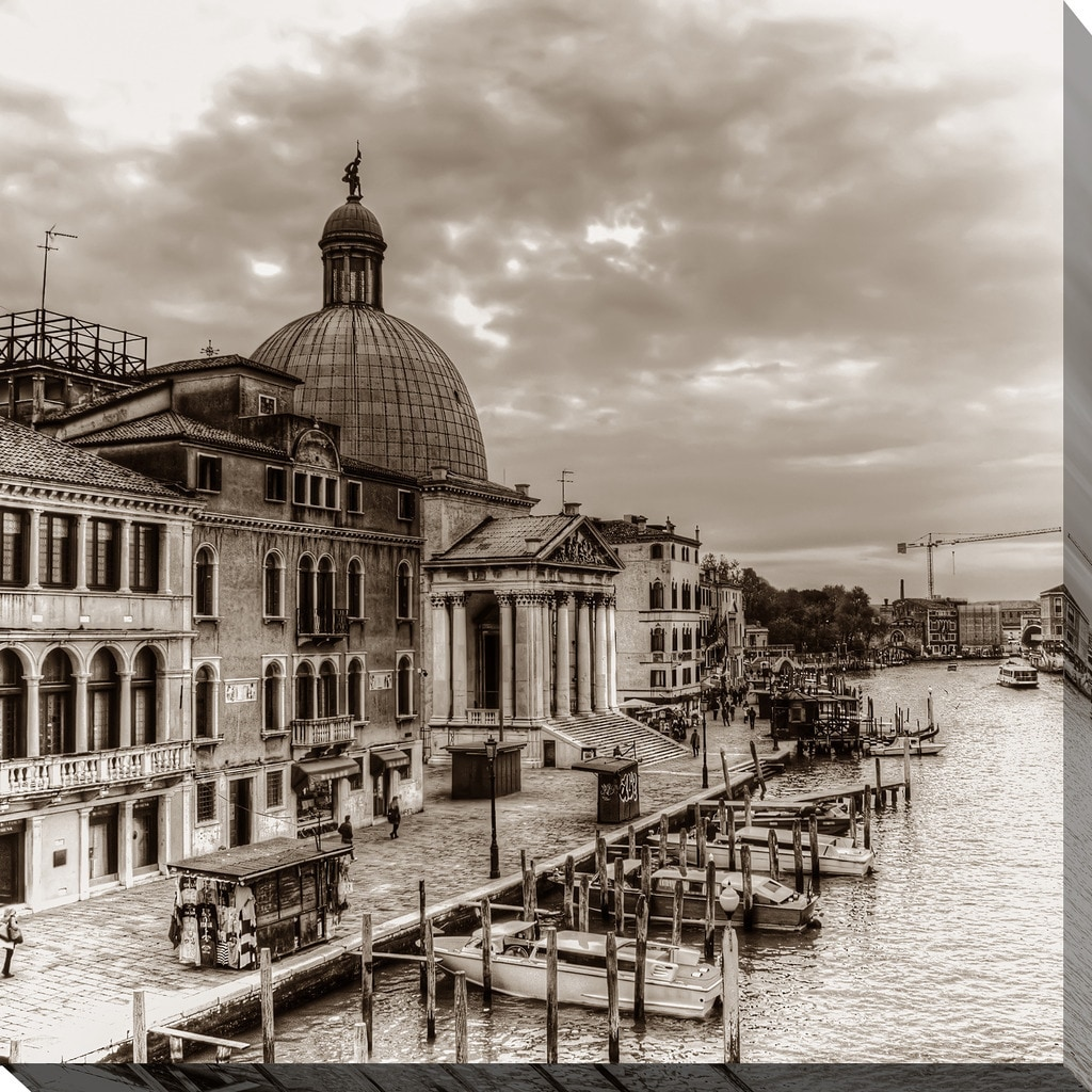 Italy In Sepia 2 Giclee Print Canvas Wall Art Overstock 13742164
