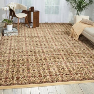 kathy ireland Antiquities Ivory Area Rug by Nourison (9'10 x 13'2)