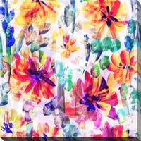 """Wild Flowers 1"" Giclee Print Canvas Wall Art"