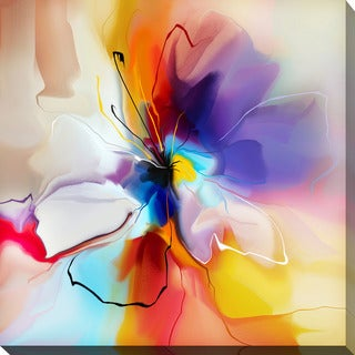 """""""Visions of Fire"""" Giclee Print Canvas Wall Art"""