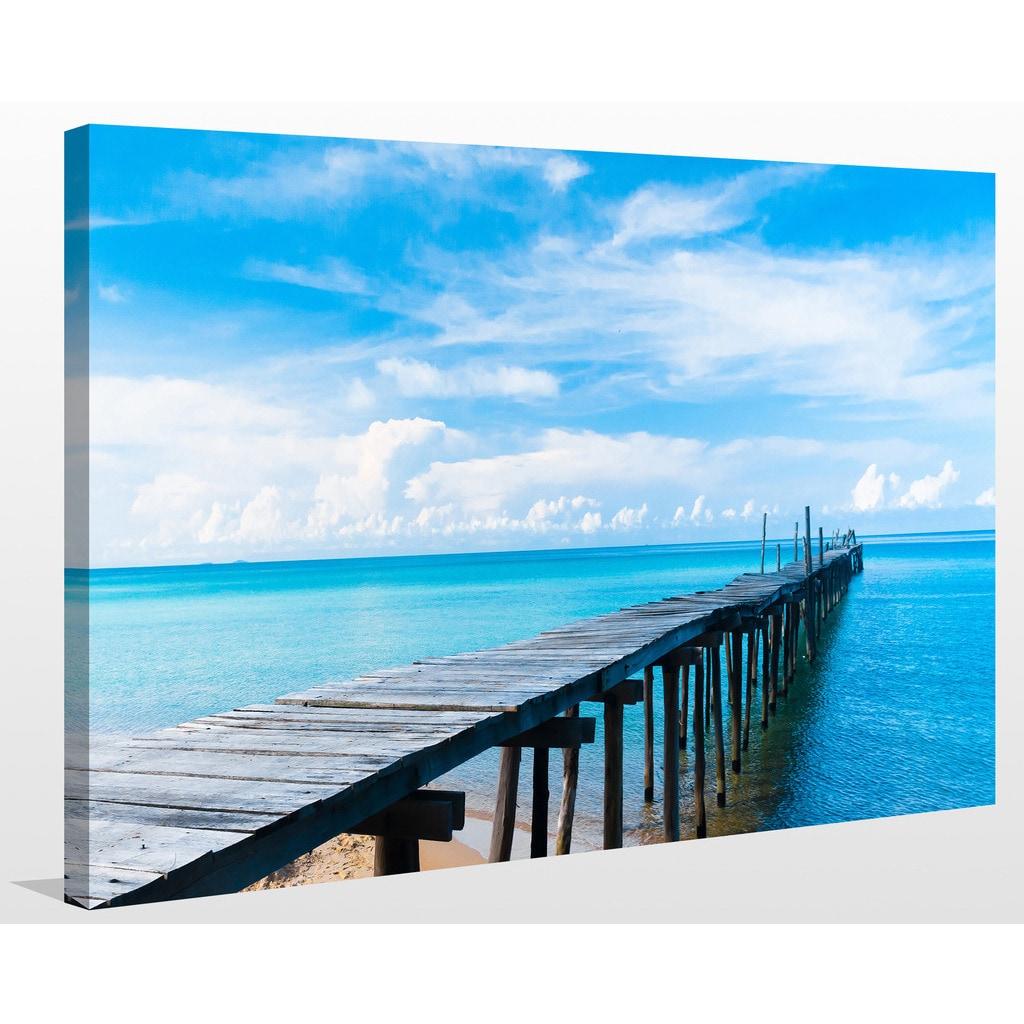 Lifes A Beach Giclee Print Canvas Wall Art Overstock 13742281