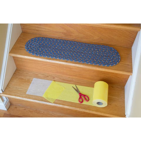 Rhody Rug Yellow Synthetic Stair Tread Installation Kit