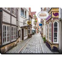 """Bremen"" Giclee Print Canvas Wall Art"