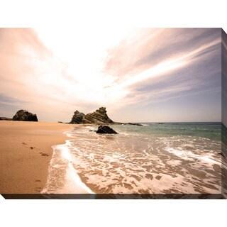 """""""Lifes a Beach II"""" Giclee Print Canvas Wall Art"""